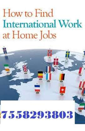 This opportunity for everyone. Part Time Job and home based.