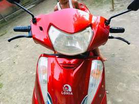 Now scooty olny 1 year and 5 months old no scrash like a new scooty