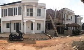 rumah design mewah harga murah 2lt alam sutera/bintaro