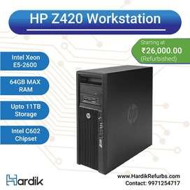 HP Z420 Workstation/ 1Yr Warranty