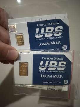 Emas UBS batangan