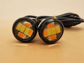 Motorcycle Bolt On Screw Eagle Eye Lamp ( DRL + SEIN )