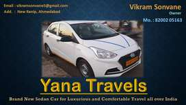 YANA TRAVELS from Ahmedabad to All over India