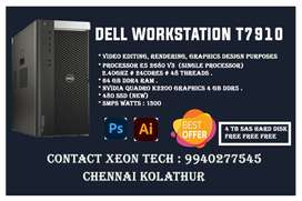 BUY DELL T7910 WITH 4TB HDD FREE