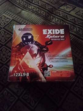 Exide battery - unused with 4 years of warranty