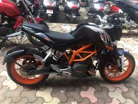 KTM Duke 390 ABS BLACK 2016 EMI Option Available