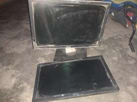 repairable 2 dell lcds 19