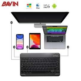 Mini Wireles Bluetooth Keyboard Slim Thin Design For Windows IOS PC