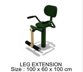 Leg Extension Outdoor Fitness - Alat Fitness Termurah