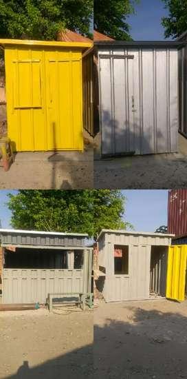 Booth Semi Container dan Booth stand makanan dan minuman
