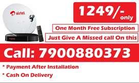 bihar Airtel DTH Dishtv TataSky HD SD Box All over india offer