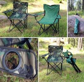Folding Camouflage Chair for Hunting - Hiking - Camping