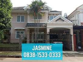 Disewakan Rumah Hadap Timur Laut di BSD Tangerang