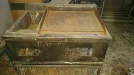 Hot plate and broast fryer