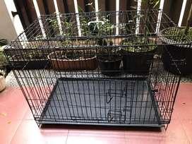 Kandang Kucing Octagon Big Size Ukuran 90cm