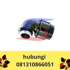 FITTING HDPE COMPRESSION JOINT ELBOW DRAT DALAM ECER