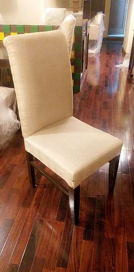 New wooden dinning chairs