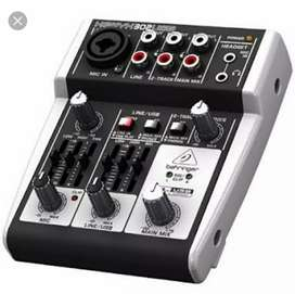 Behringer Xenyx 302usb Audio interface.