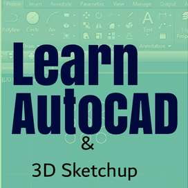 Autocad and sketchup