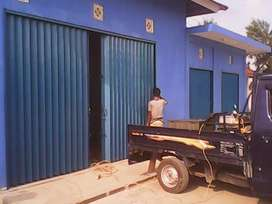 Rolling door folding gate murah 019