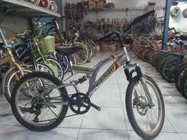 sepeda mtb gunung full bike antik kuno jadul