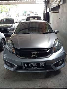 Honda Brio 1.2 E Manual 2017. Silver. Plat G. KM 25RB. DP 15 JT