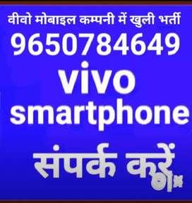 वीवो मोबाइल कम्पनी में बिना इंटरव्यू लड़कों की भर्ती संपर्क करें