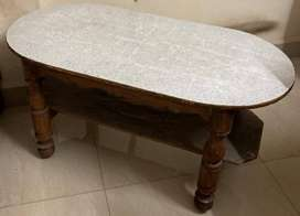 Multipurpose Wooden Sofa Center Table