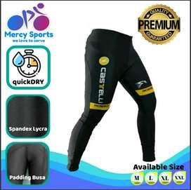 Celana Sepeda Full Merk Castelli Roso size XXL