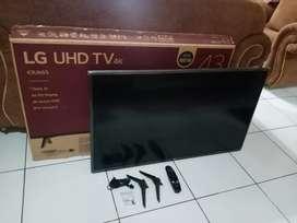 TV LED LG 43 inch (43UK65) smart tv UHD fullset harga 4,2 jt