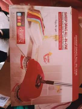 Automatic broom not used only one month old red colour