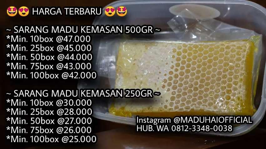 Sarang madu dan madu cair 0