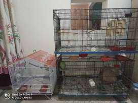 3 cages for sale urgent