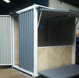 Stand booth container/container untuk jualan