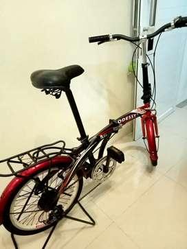 Sepeda lipat ODESSY ring 20