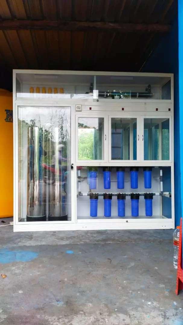 Mesin depot air isi ulang bio