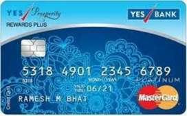 Credit card department job
