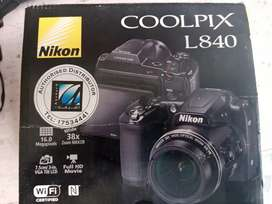 Nikon Coolpix L840 with 38x zoom