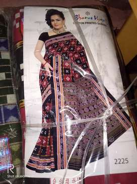 sambalpuri machine printing saree