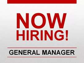 Hiring General manager