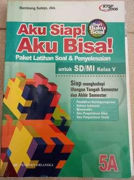 Dijual buku Paket Latihan soal & penyelesaian 5B u SD/MI kls V