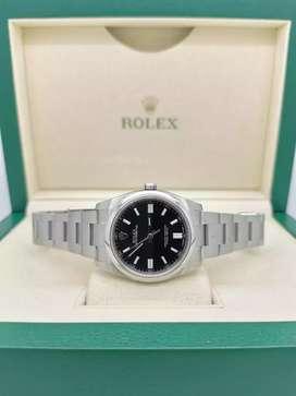 Jam Pria Rolex Oyster Perpetual Ref 116000