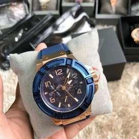 Guess Pria W0247G3 Blue Original