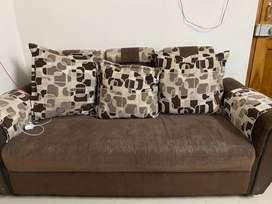 Sofa set with diwan