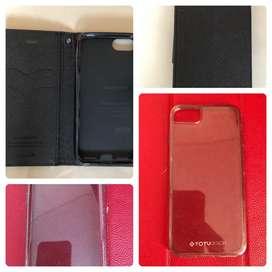 Goospery Flip + Totu Sparkling Soft Case Iphone 7/8