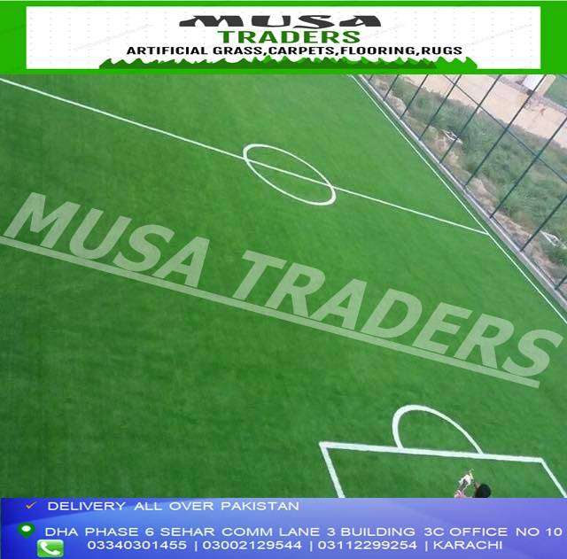 Artificial grass for futsall and cricket grounds sports use grass