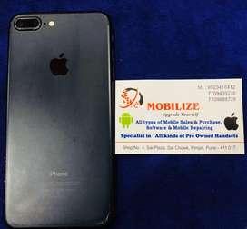 iPhone 7 Plus 32GB Mat Black In Good Condition.