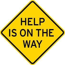 help on the way is just a call away