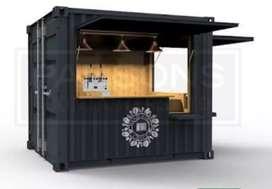 Booth / Container desain kece dengan promo menarik dibulan ini