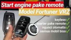 qEngine Start Stop Remote SIRION model Fortuner